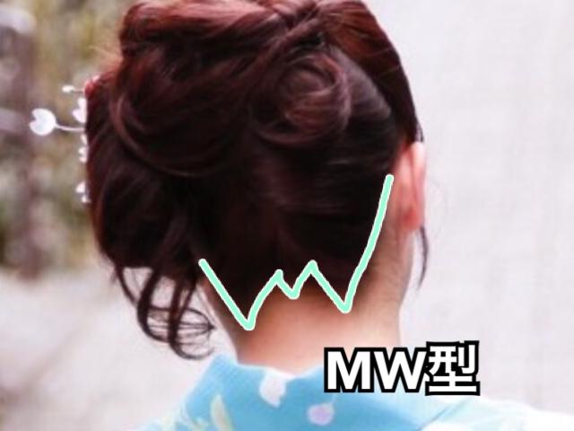 うなじ MW型